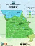 Missouri Plant Hardiness Zone Map - Mapsof.net