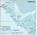 Monrovia - Mapsof.Net Map