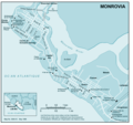 Monroviafr - Mapsof.Net Map
