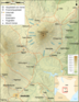 Mount Kenya Region Map De - Mapsof.Net Map