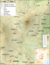 Mount Kenya Region Map Fr - Mapsof.Net Map