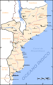 Mozambique Map Cities - Mapsof.net