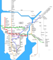 Mumbai Metro Map - Mapsof.Net Map