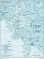 Myanmar - Mapsof.Net Map
