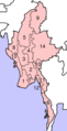 Myanmarnumbered - Mapsof.Net Map
