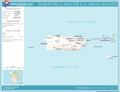 National Atlas Puerto Rico Virgin Islands - Mapsof.Net Map