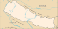 Kingdom of Nepal - Mapsof.net