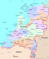 Netherlands Map - Mapsof.Net Map