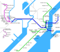 New Jersey Metro Map - Mapsof.Net Map