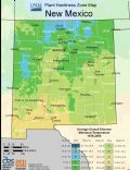 New Mexico Plant Hardiness Zone Map - Mapsof.Net Map