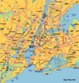 New York City Map - Mapsof.Net Map