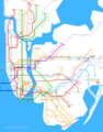 New York City Metro Map - Mapsof.Net Map