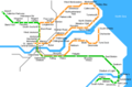 Newcastle Metro Map - Mapsof.Net Map
