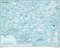 Nigeria - Mapsof.Net Map
