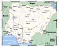 Nigeriamap - Mapsof.Net Map