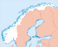 Norway Equidist - Mapsof.Net Map