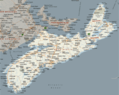 Nova Scotia Map - Mapsof.Net Map