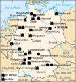 Nuclear Power Plants Map Germany Fr - Mapsof.Net Map