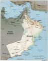 Oman 1996 Cia Map - Mapsof.Net Map