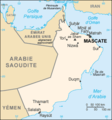 Oman Carte - Mapsof.Net Map
