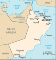 Oman Map - Mapsof.Net Map