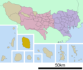 Oshima Town In Tokyo Prefecture Ja - Mapsof.net