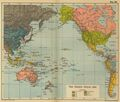 Pacific Ocean Map 1910 - Mapsof.net