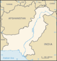 Pakistan Map Blank - Mapsof.net