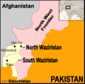 Pakistan Waziristan Map 2 - Mapsof.Net Map