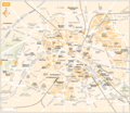 Paris City Map - Mapsof.Net Map