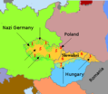 Partition of Czechoslovakia (1938) - Mapsof.Net Map