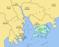 Pearl River Delta Area - Mapsof.Net Map