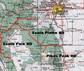 Pike Nat Forest Vicinity Map - Mapsof.Net Map