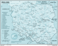 Poland - Mapsof.Net Map