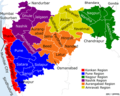 Political Map Maharashtra - Mapsof.Net Map
