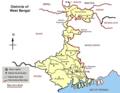 Political Map West Bengal - Mapsof.Net Map