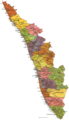 Political Map of Kerala - Mapsof.Net Map
