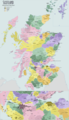 Political Map of Scotland - Mapsof.Net Map