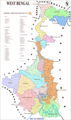 Political Map of West Bengal - Mapsof.Net Map
