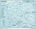 Pologne - Mapsof.Net Map
