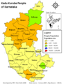 Population Map of Karnataka - Mapsof.net