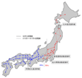 Power Grid of Japan - Mapsof.Net Map