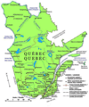 Quebec Map - Mapsof.Net Map