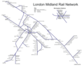 Raiway Network Map of London - Mapsof.Net Map