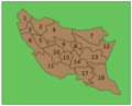 Ratnapura District Ds Divisions - Mapsof.Net Map