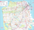Road And Transport Map San Francisco - Mapsof.Net Map