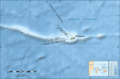 Rodrigues Island Bathymetric Environment Map Fr - Mapsof.net