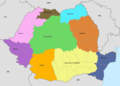 Romania Regions Map - Mapsof.Net Map