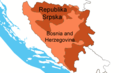 Rs Within Bosnia And Herzegovina - Mapsof.Net Map