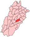 Sahiwal District - Mapsof.Net Map
